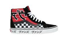 New Men's Vans Sk8-Hi Reissue 'Japanese Type' Shoes Red Black Size 7 721356
