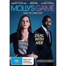 Molly's Game (DVD, 2017)