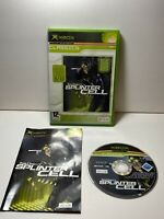 Splinter Cell Microsoft Xbox Game - Boxed With Manual