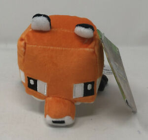 Minecraft Mini Crafter Fox Plush