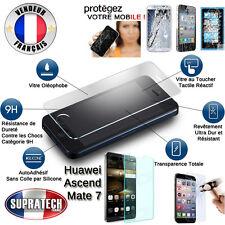 Protection d'Ecran en Verre Trempé Contre les Chocs pour Huawei Ascend Mate 7