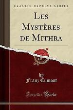Les Mysteres de Mithra (Classic Reprint) (Paperback or Softback)
