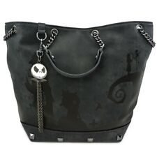 Loungefly Nightmare Before Christmas Halloween Town Crossbody Tote Bag WDTB1691