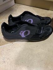 Pearl Izumi Women Race RD IV Carbon Road Bike Shoes 3 Bolt White BOA Size 41