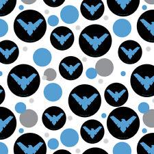 Batman Nightwing Logo Premium Gift Wrap Wrapping Paper Roll