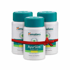 3 x 60 Himalaya AyurSlim Capsules NATURAL WEIGHT LOOSE QUICK RESULTS