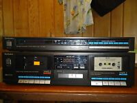 Technics RS-D550W Dual Cassette Deck + Quartz Synthesizer FM/AM Stereo Tuner 550