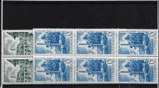 LUXEMBOURG SG788/9, 1966 EUROPEAN CENTRE MNH BLOCKS OF SIX