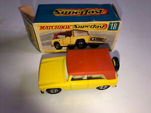 Matchbox Superfast 18 Field Car Pre Owned