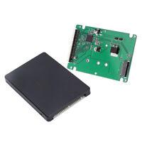 NGFF M.2 SATA SSD to 2.5 IDE 44 Pin Converter Adapter Case Black