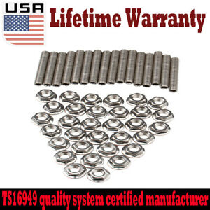 New Exhaust Manifold Header Hardened Stainless Steel Bolts For Ford F150 V8 US