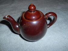 Brown Tea Pot - Made In Japan