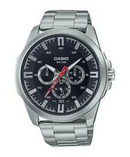 NEW MODEL CASIO MTPSW310D-1A **AUTOMATIC MOVEMENT** MULTI-DIALS WT 50 METERS