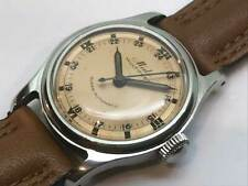 MIDO Multifort Bumper Arabic Numeral Index Automatic Vintage Watch 1950's