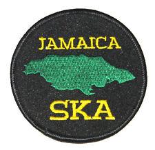SKA JAMAICA PATCH Aufnäher Neu New !!!