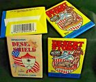 DESERT SHIELD & STORM Four Unopened Packs of Cards - 36 Pacific Trading + Topps