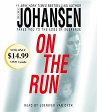 On the Run by Iris Johansen (2007, CD, Abridged)