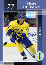 World Cup 2016. Sweden. Victor Hedman xx/18 Tampa Bay Lightning