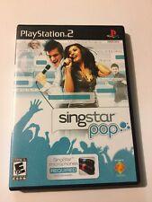 SingStar: Pop (Sony PlayStation 2, 2007)
