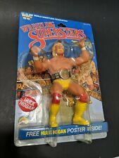 New Hulk Hogan WWF LJN Wrestling Superstars MOC Figure 1984 read description