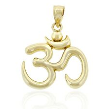 Gold Ohm Charm, 10k Solid Gold