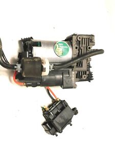 2011-2014 Jaguar XJ XJL Air Suspension Pump Compressor OEM Original System Unit