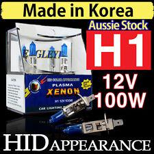 H1 Xenon Headlight Bulbs Globes HID 12V 100W Car Driving Crystal Vision White
