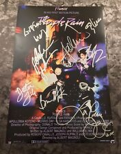 GFA Cast x9 Apollonia Wendy * PRINCE PURPLE RAIN * Movie Signed 12x18 Photo COA