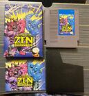 Zen: Intergalactic Ninja (Nintendo NES, 1993) Complete CIB Tested and Authentic