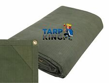 Ripstop Strong Canvas Tarp 1.8m x 2.4m - Tarpaulin Camping Trailer Cover