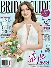 """NEW~""""BRIDAL GUIDE""""~JULY/AUG Issue for 2019~FIND THE RIGHT DRESS!"""