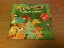 CDs MADAGASCAR GANG MI PIACE SE TI MUOVI / I LIKE TO MOVE IT X-ENERGY P 2008 NEW