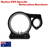 BLK CNC Billet speedo relocation Bracket Harley Sportster XL 883 1200 C N L R 48