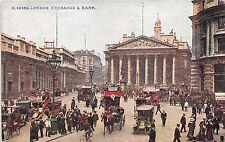 B85469 exchange and bank chariot car voiture    london uk