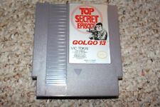 Golgo 13 (Nintendo Entertainment System NES) Cart Only Top Secret Episode