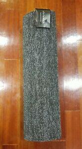 """Chilewich Heathered Gray 24"""" x 72"""" Shag Runner Indoor/Outdoor Floor Mat"""