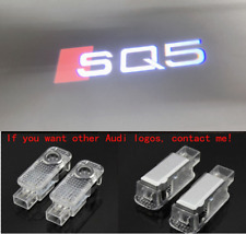 2X Laser LED Logo Door Lamp Puddle Courtesy Projector Shadow Light For AUDI SQ5