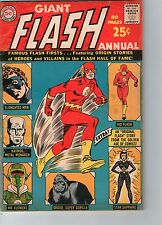 Flash Annual #1 (Giant Size) DC Comics 1963 Infantino Art VG