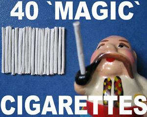 40 MAGIC TRICK PUFF CIGARETTE BLOW SMOKE RINGS FOR SMOKER SMOKING MONKEY TOY