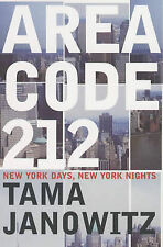 Area Code 212 by Tama Janowitz (Paperback, 2002)-9780747558286-G010