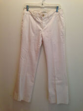 Banana Republic Stretch White Cargo Style Chinos Pants Trousers Size 4