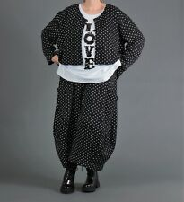 ♦ AKH Fashion Kurz Jacke EG 42,44,46,48,50,52 Bubble Dots ♦