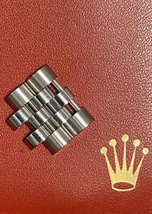Maillons de bracelet ROLEX Jubilee en Acier 15,5 mm avec vis