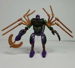Transformers Beast Wars Blackarachnia Deluxe Class Spider Complete 1995 Takara
