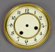 Altes Email Zifferblatt f Regulator Wanduhr Uhr Uhrmacher clock dial watchmaker