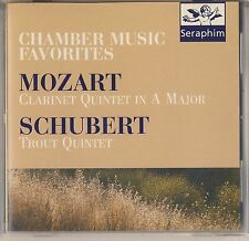 Chamber Music: Mozart, Schubert - Gervase de Peyer, Hephzibah Menuhin Like New
