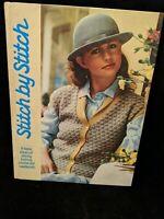 Vintage Stitch by Stitch Vol. 1 by Torstar Books (1985) Hardcover Needlework