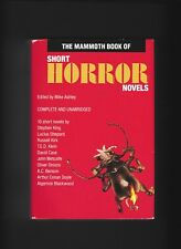 The Mammoth Book of Short HORROR Novels-Stephen King-A. C. Doyle-Lucius Shepard