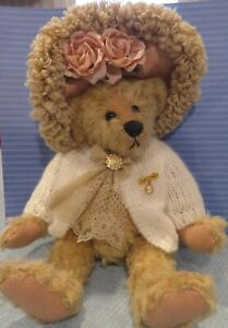 Rare 1999 Gallery Teddy Bears Ashton-Drake Vicky Lougher PANDORA Victorian