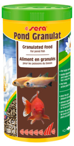 170g Sera Pond Granulat 1L BULK Staple Fish Food for Pond Goldfish Koi Gold Fish